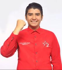 Xavier Saltos Yagual Prefecto de Santa Elena