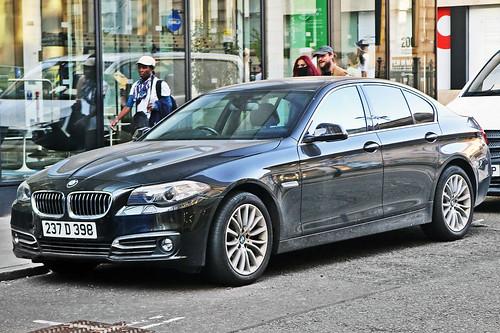 BMW 520i F10 - 237 D 398 - Romania Diplomat, United Kingdom