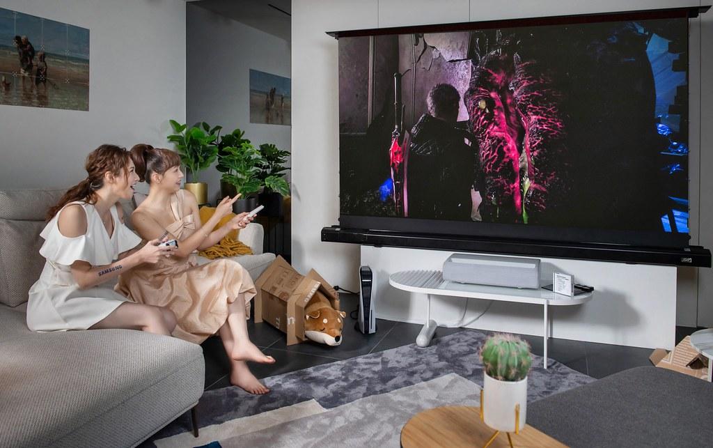 【新聞照片1】The Premiere超短焦雷射4K智慧電視全新登場,打造居家沉浸式劇院體驗