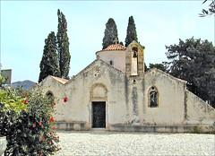 L'Église de la Panaghia Kéra à Kritsa (Crète)