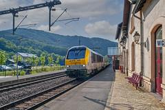 CFL 3003, BR 3000 Alstom - Bahnhof Kautenbach
