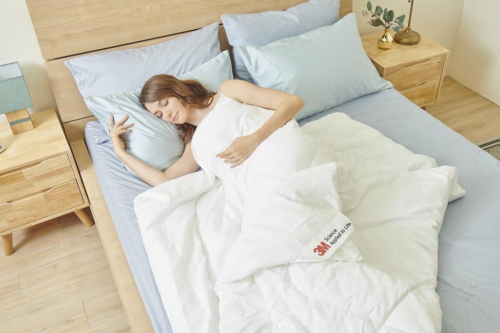 瑞莎親推3M防蟎寢具 守護全家幸福從安心睡眠開始 (3M提供)