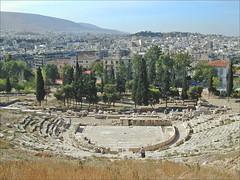 Le lieu de naissance du théâtre (sanctuaire de Dionysos, Athènes)