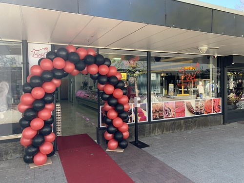 Ballonboog 5m Opening Slagerij Nes Rotterdam