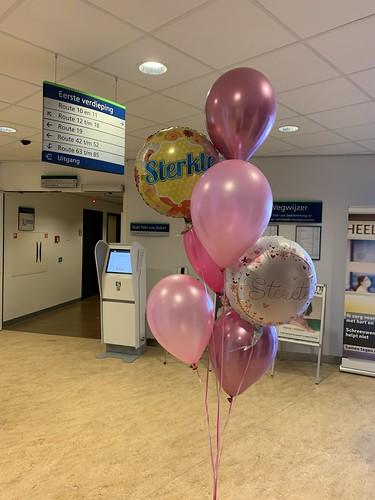 Ballonboeket Sterkte Beterschap Ikazia Ziekenhuis Rotterdam