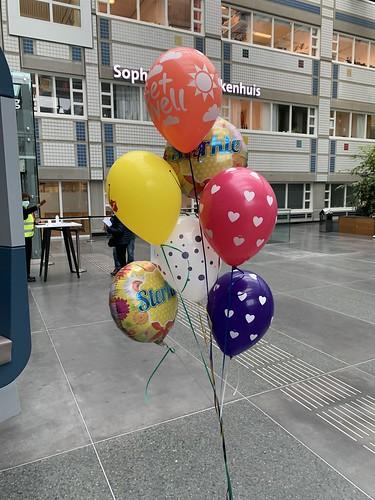 Ballonboeket Sterkte Beterschap Sophia Kinderziekenhuis Rotterdam
