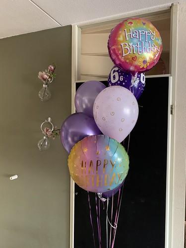 Ballonboeket Verjaardag 6 Jaar