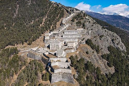 La maestosità del Forte di Fenestrelle