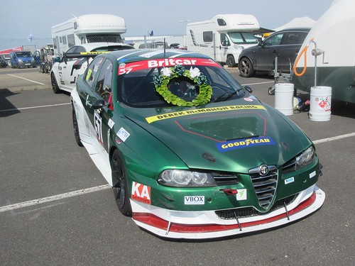 Double winner at Silverstone - Barry McMahon's 156