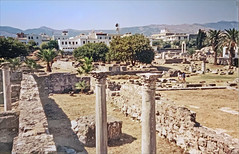 L'ancienne agora de Kos (Grèce)