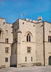 Le palais du Grand Maître de l'Ordre (Rhodes, Grèce)