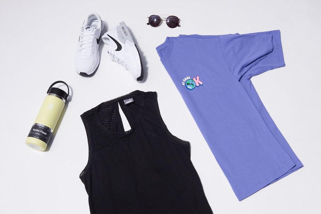多款新穎休閒的運動單品,讓機能時尚更自然地融入到生活中