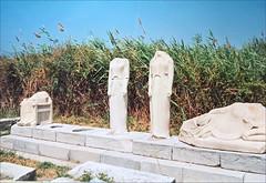 Statues votives du temple d'Héra à Samos (Grèce)