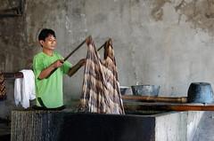 Fabrication de batiks