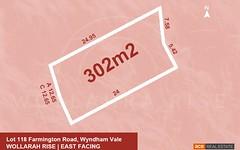 Lot 118, Farmington Road, Wyndham Vale VIC