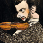 Paul Klee Playing the Violin, From FlickrPhotos