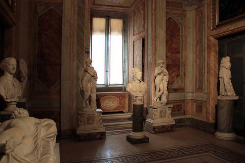 Sala dell'ermafrodito - Galleria Borghese, Roma