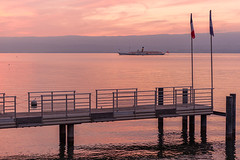 Genfer See bei Evian-les-bains