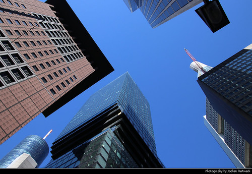 Looking Up, Frankfurt, Germany