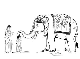 யானை ஆசீர்வாதம்