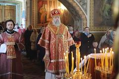 03.05.2021 - Архиерейское богослужение в канун вторника Светлой седмицы