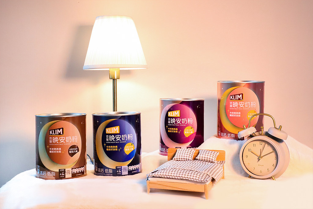 2.「克寧晚安奶粉限量星座版」限定包裝,由「國師」唐綺陽精選四大象限星座「安定色」,幫助消費者好好說晚安。