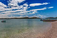 Himmel über Betina Dalmatien