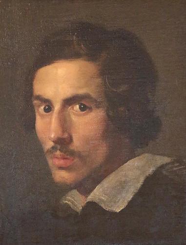 Gian Lorenzo Bernini (Napoli, 7 dicembre 1598 – Roma, 28 novembre 1680) - autoritratto in età giovanile (1623) - olio su tela 38 x 30 cm - Galleria Borghese, Roma