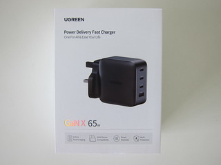 Ugreen 65W GaN Triple USB-C Plus USB-A Charger