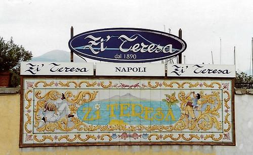 Napoli, Borgo Marinari, Ristorante Zi Teresa