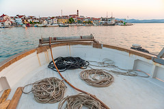 Hafen Betina Murter Dalmatien Hafen