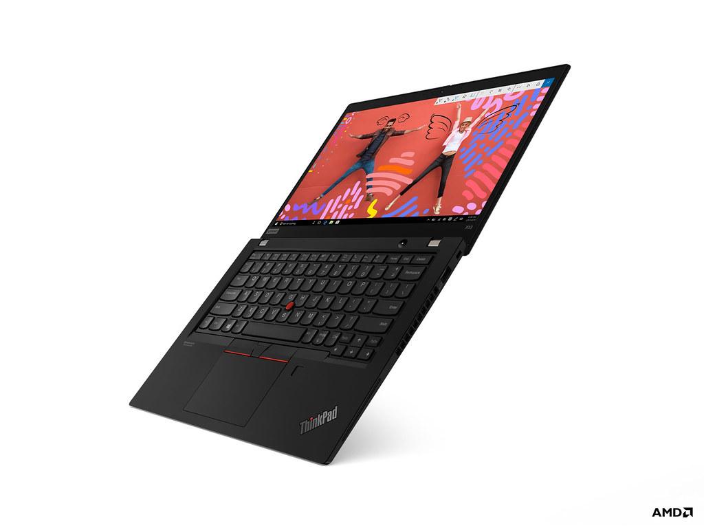 【新聞照片2】ThinkPad ThinkPad X13具備常時啟動、常時連網的技術,確保高效工作者維持領先地位,定價NT41,700元起。