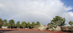 May 4, 2021 - A beautiful rainbow as seen from Broomfield. (David Canfield)