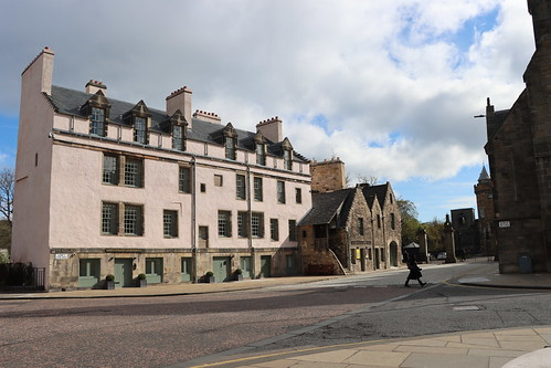 Foot of the Royal Mile.
