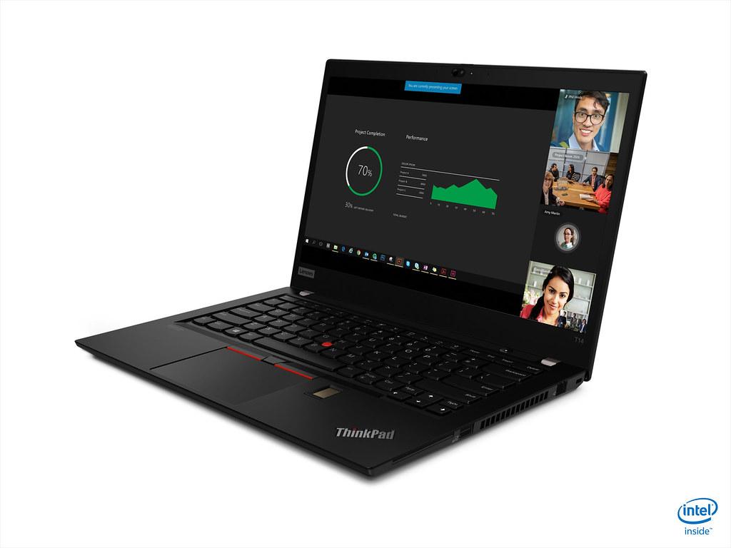 【新聞照片4】ThinkPad T14裝備指紋辨識器與RFID讀取器,還可選配Privacy Guard 隱私保護螢幕,定價為NT44,500元起。