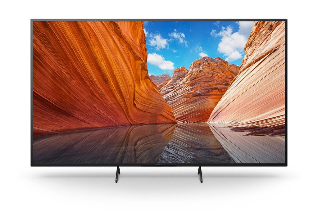 圖3) 最新BRAVIA X80J 系列共包含43、50、55及65吋等多款螢幕尺寸以符合不同空間觀看需求。