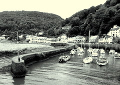 Photo of LYNMOUTH harbour