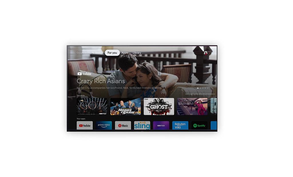 圖4) 全新Google TV 系統登場,居家智慧娛樂生活輕鬆掌握。