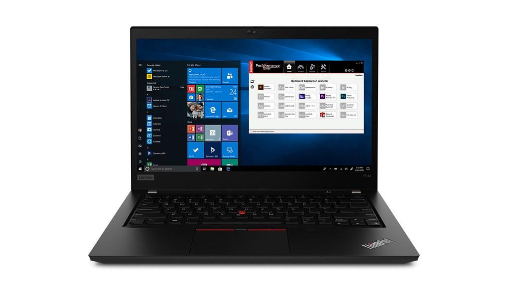 【新聞照片5】ThinkPad P14s工作站搭載第11代Intel Core vPro行動處理器,整合CUDA核心、更強效能和高達4GB VRAM,定價為NT47,300元起。