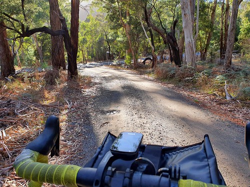 Escaping for a morning ride in Gariwerd