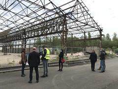 Visite de site - Bassens -Bordeaux Métropole - Europan 16