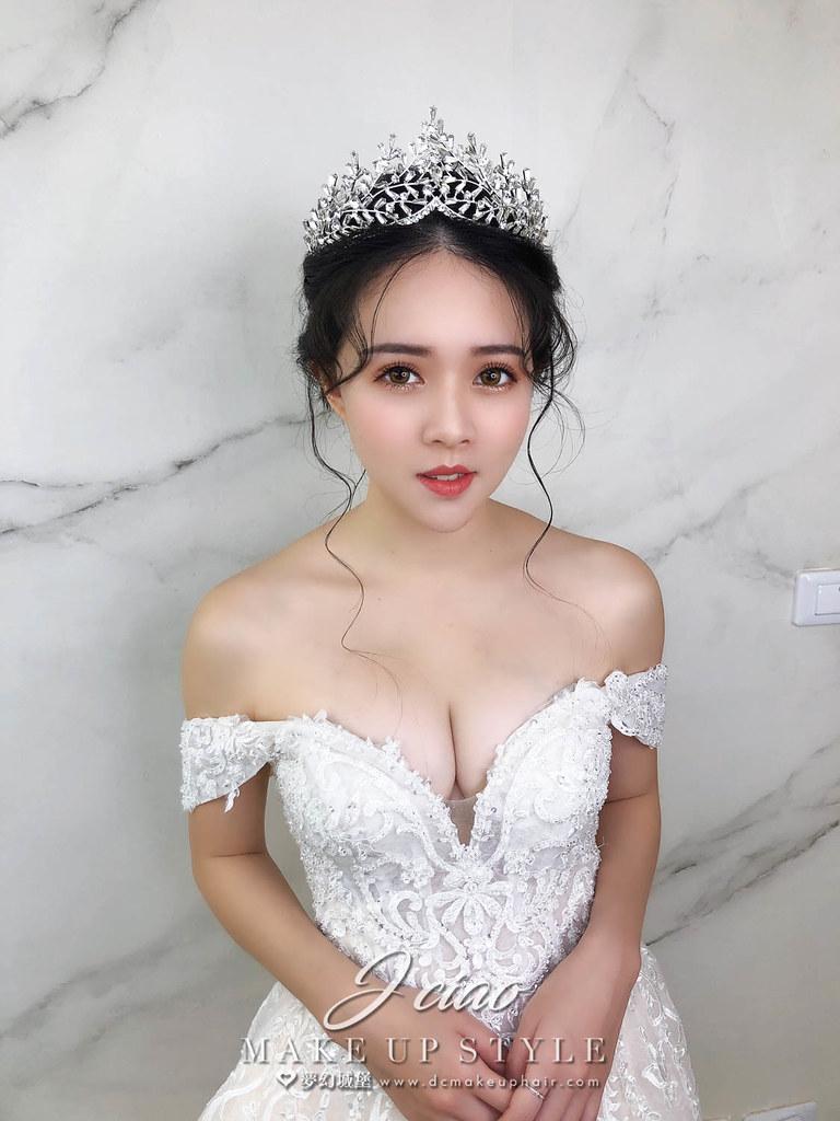 【新秘婕喬】新娘造型創作 / 韓系小公主