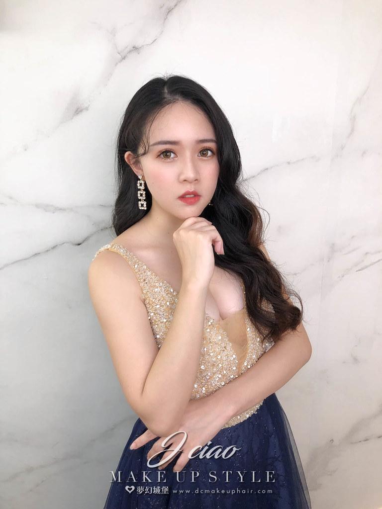 【新秘婕喬】新娘造型創作 / 韓系大放髮