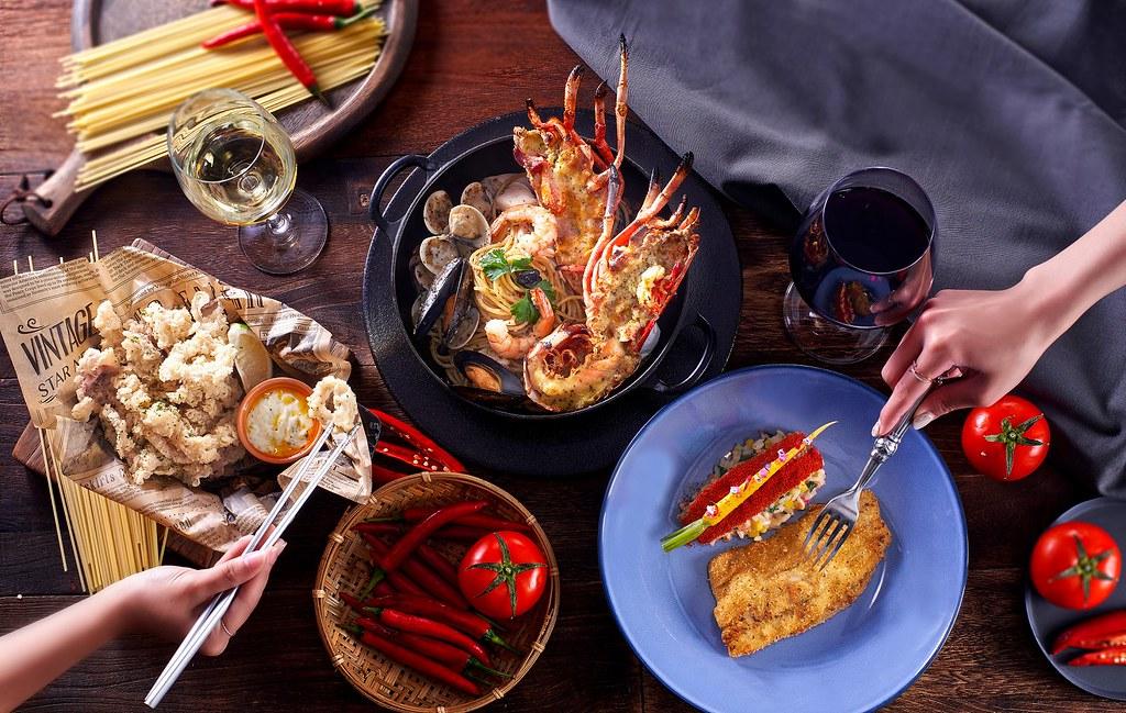 隨意鳥地方餐廳_杜甲辣椒夏季限定菜色_用餐情境照