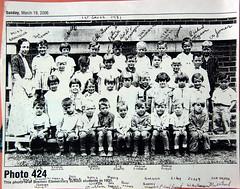 1931 - school - Miss Brownlie's first grade class