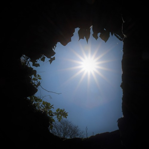 light at the end of the cave