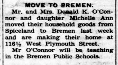 1963 - Don O'Connor moves to town - Enquirer - 13 Jun 1963