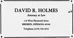 1986 - Dave Holmes office - South Bend Tribune - 28 Sep 1986