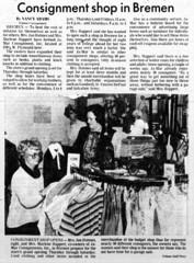 1980 - Ja-Mar consignment - Huppert Holmes - South Bend Tribune - 19 Oct 1980
