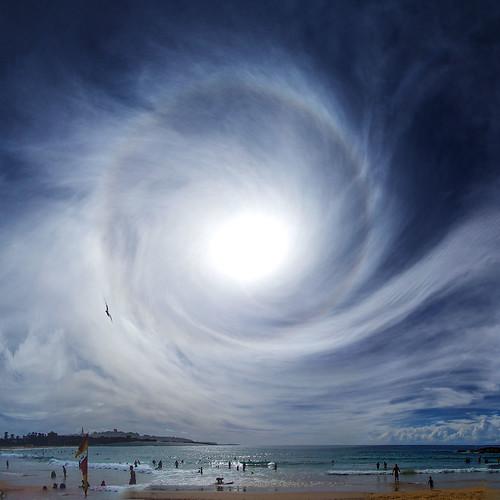 Cyclonic sky